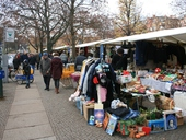 Flea Market at Marheinekeplatz