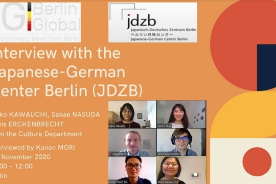 20201106 An interview with the Japanese-German Center.jpg